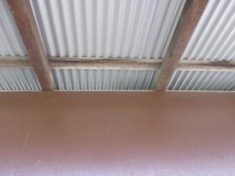 物置小屋屋根リフォーム