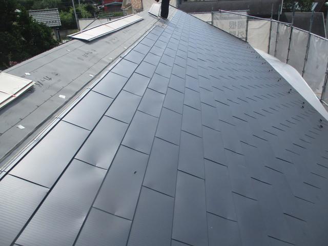 ガルバリウム横葺き屋根