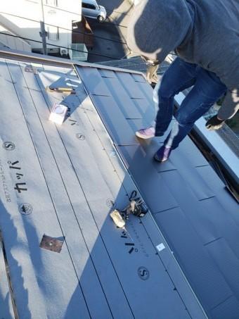 ガルバリウム鋼板本葺き20200130