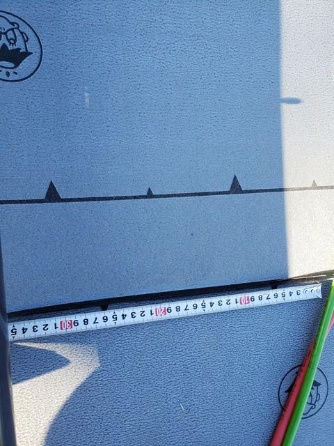 ルーフィング材左右重ね20200210