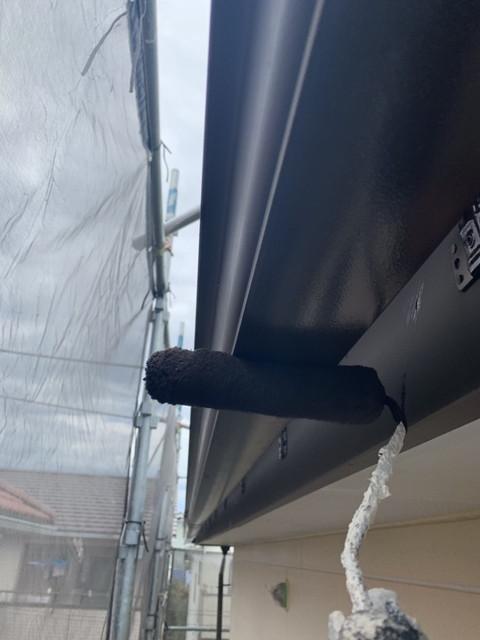 雨樋塗り替え