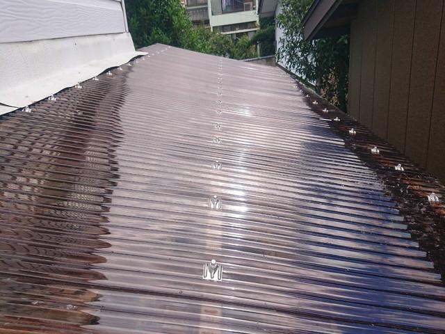 テラス屋根 施工後