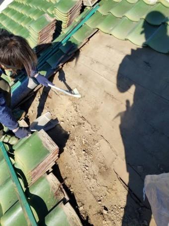 瓦屋根 修繕