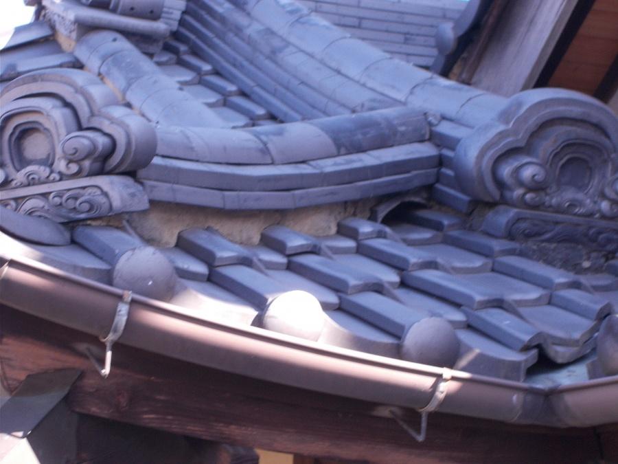 群馬県富岡市で漆喰の詰め直し工事を無料見積りしました