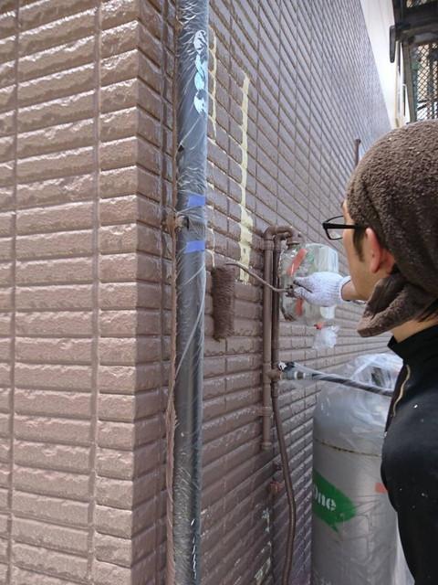 外壁塗装工程