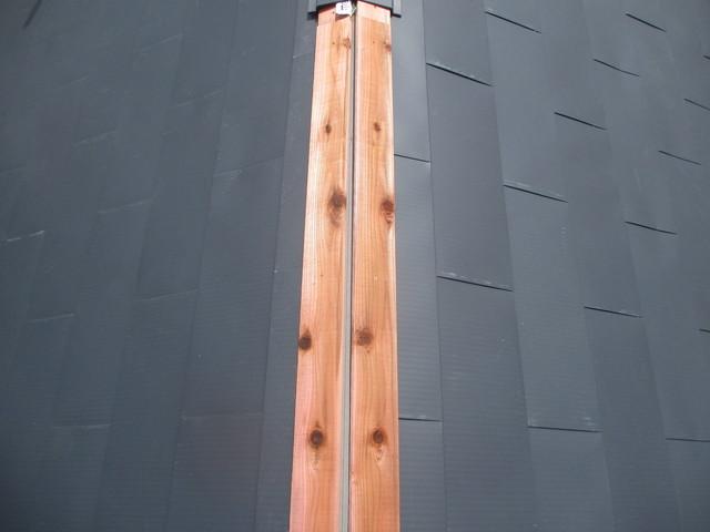 貫板の防腐処理