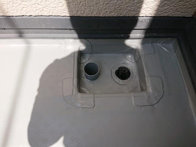 ベランダ排水口