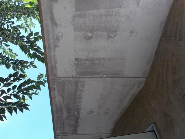 軒天井塗り替え