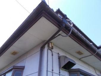 破風板板金巻き工事