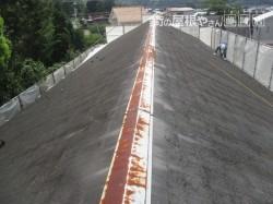 スレート屋根重ね葺き