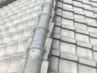 棟の熨斗瓦のズレ歪み