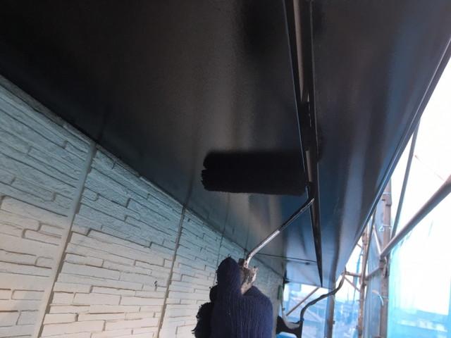 塗装 軒天井