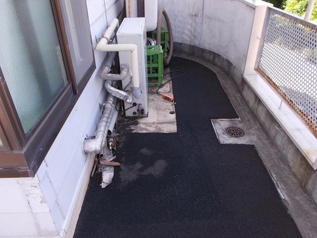 バルコニー防水改修工事