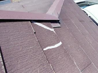 コロニアル屋根補修