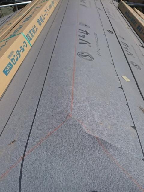 カバー工法 横暖ルーフ