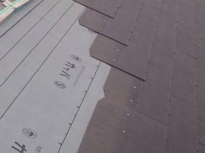 ストレート屋根