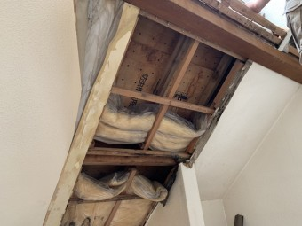 屋根断熱材の湿気