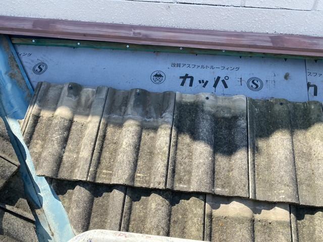 屋根葺き戻し