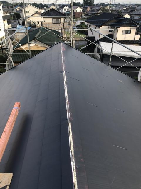 カバー工法 屋根重ね葺き