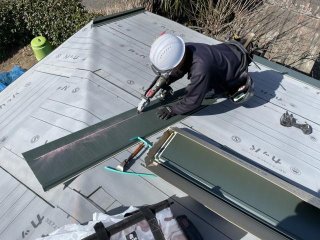 横暖ルーフ 屋根葺き替え