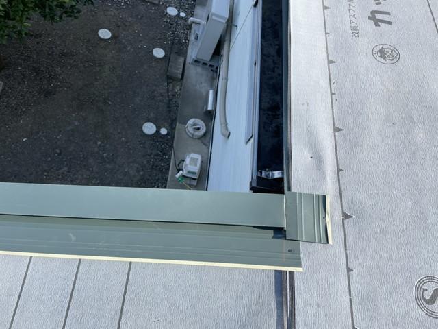 群馬県太田市で横暖ルーフSへとリフォームし、屋根葺き替えが完工しました