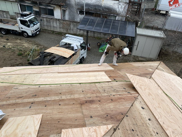 セキスイかわらU 屋根葺き替え