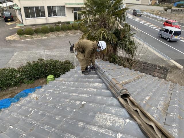 群馬県太田市でセキスイかわらUの葺き替えリフォームが始まりました