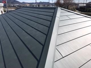 屋根葺き替え 横暖ルーフS