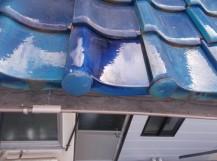 屋根部分修理