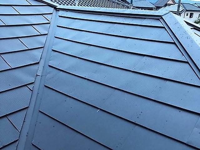 金属屋根カバー工法工事