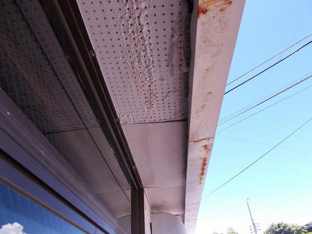 軒天井の雨漏り
