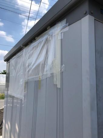 倉庫雨漏り修理
