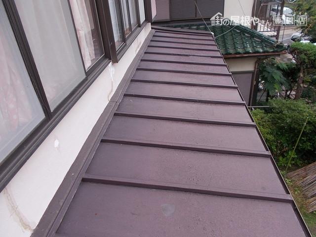 トタン屋根塗り替え
