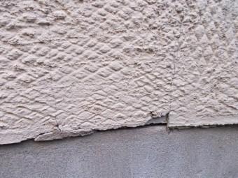 外壁クラックひび割れ