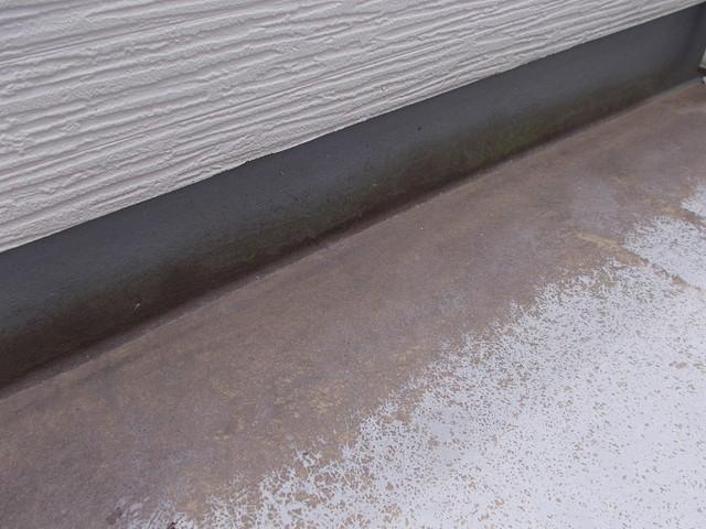 バルコニー床塗り替え