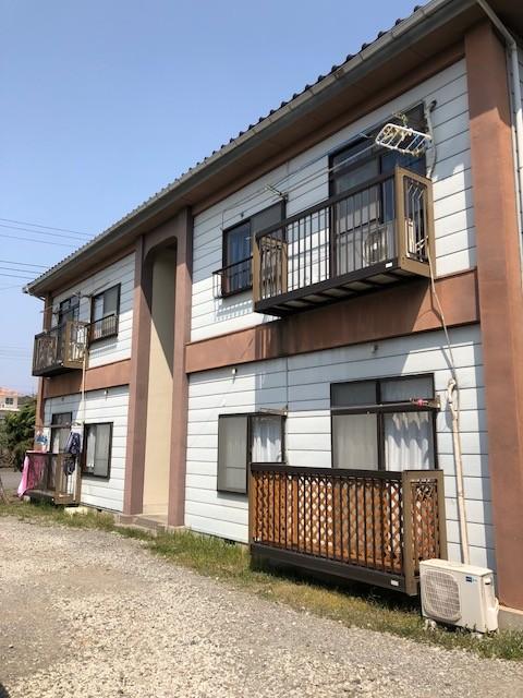 群馬県富岡市でアパートの外壁塗装を無料見積りしました