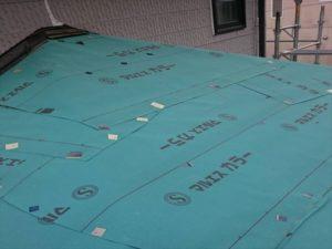 群馬県富岡市で屋根の防水を担う下葺き作業をおこないました