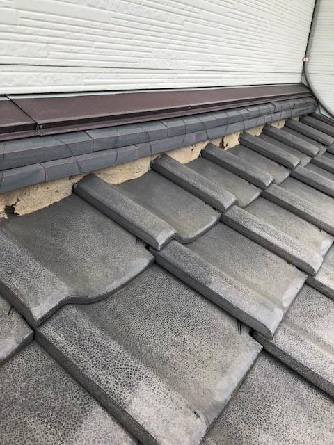 群馬県富岡市で屋根の修理依頼を受け見積もりしました。(瓦屋根編)